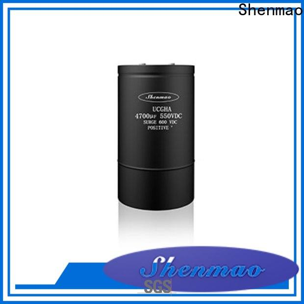 Shenmao stable polymer electrolytic capacitor vendor for rectification