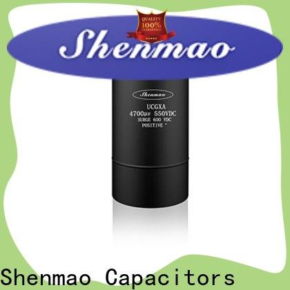 Shenmao large electrolytic capacitor overseas market for rectification