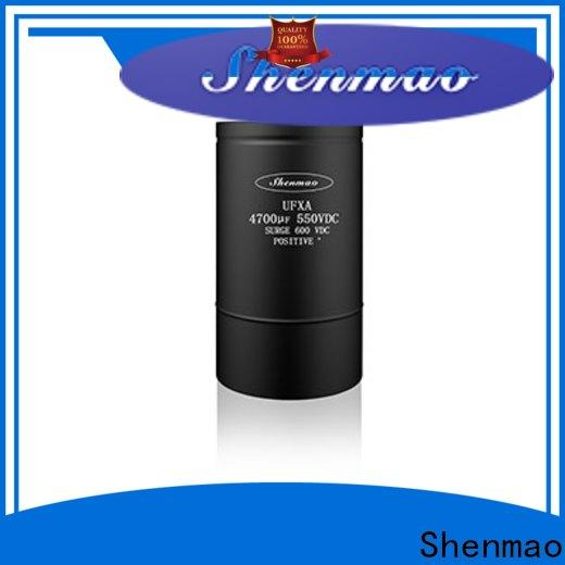 Shenmao low esr aluminum electrolytic capacitors supplier for coupling