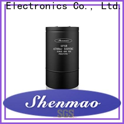 Shenmao good to use polymer electrolytic capacitor overseas market for tuning