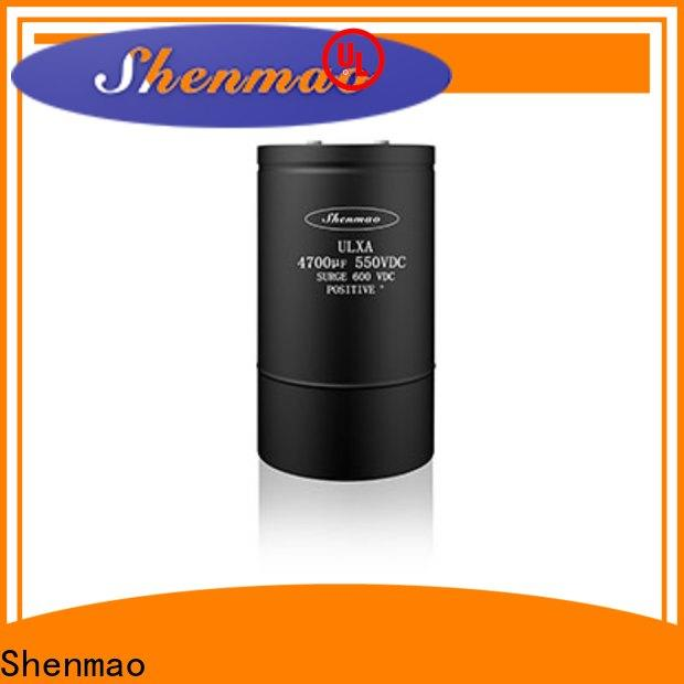 Shenmao Screw Terminal Aluminum Electrolytic Capacitor oem service for filter