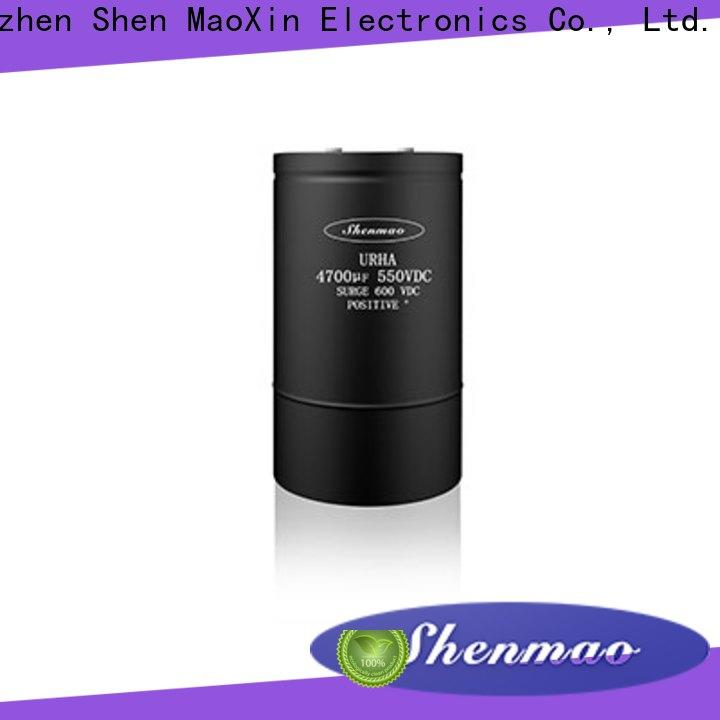 Shenmao competitive price Screw Terminal Aluminum Electrolytic Capacitor bulk production for coupling