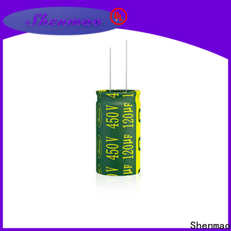 Shenmao radial electrolytic capacitor owner for tuning