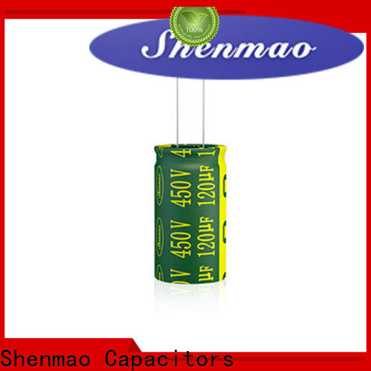 Shenmao radial lead capacitor supplier for coupling