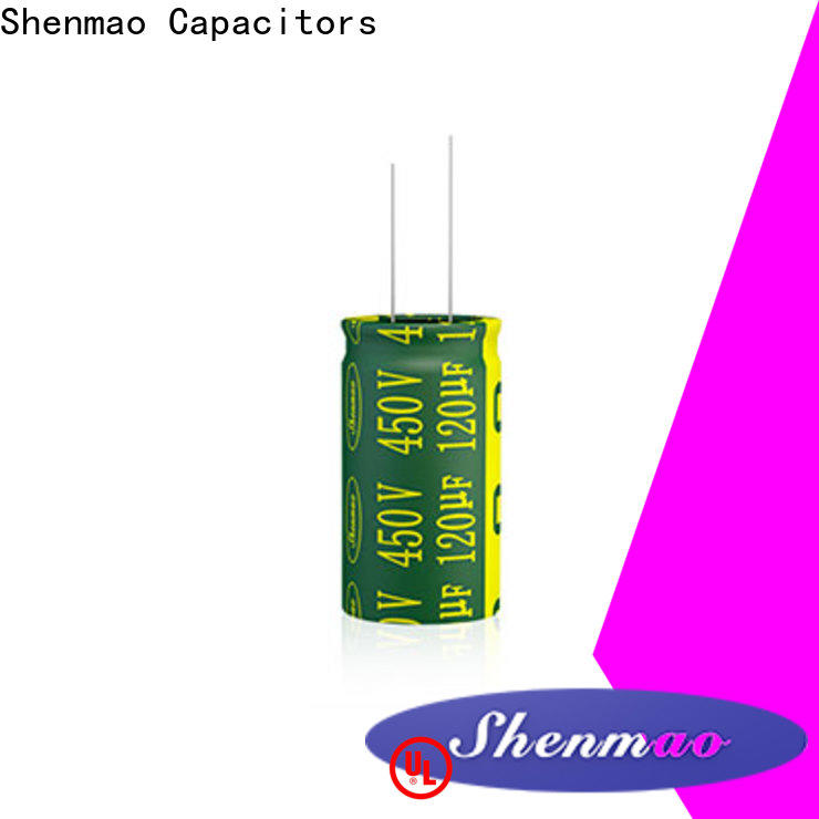 Shenmao price-favorable Radial Aluminum Electrolytic Capacitor supplier for DC blocking