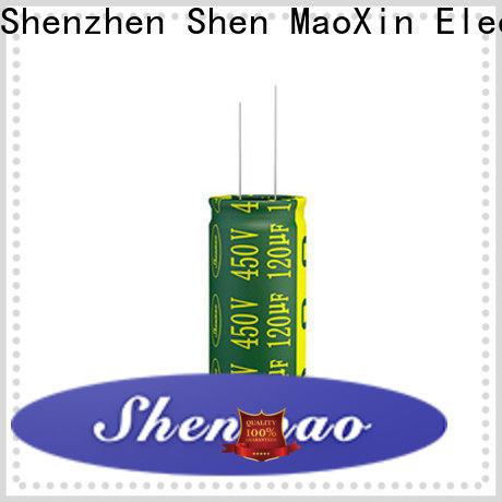 Shenmao price-favorable 1000uf 25v radial electrolytic capacitor vendor for tuning