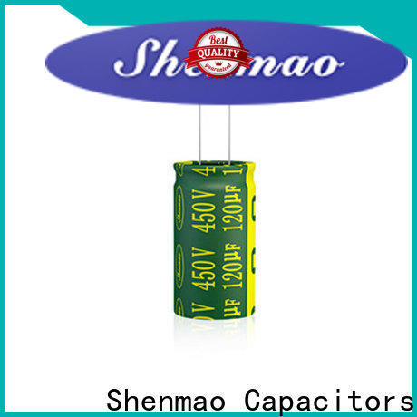 Shenmao 470uf 250v radial electrolytic capacitor vendor for energy storage