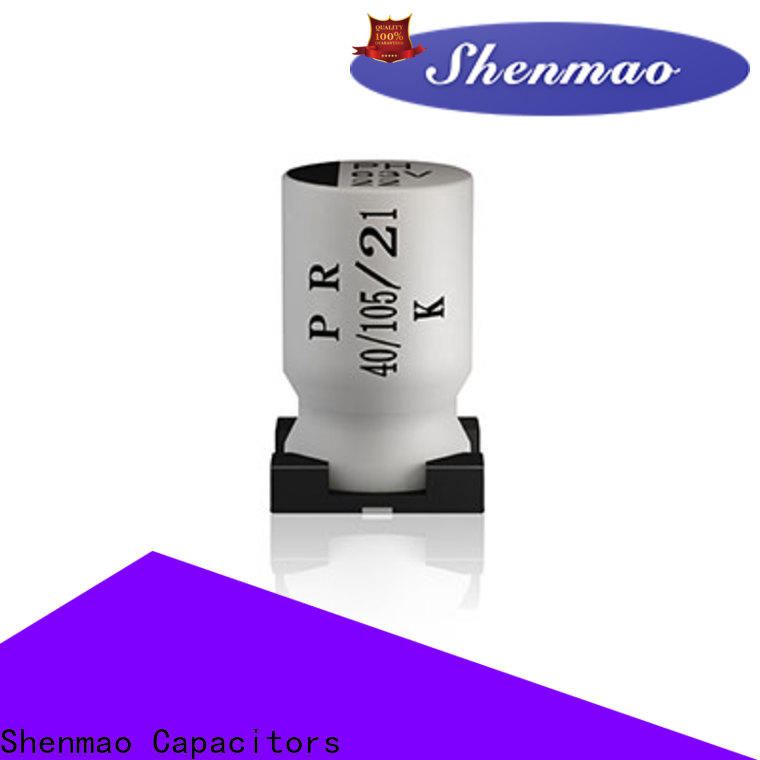 Shenmao advanced technology smd capacitor manufacturers oem service for energy storage