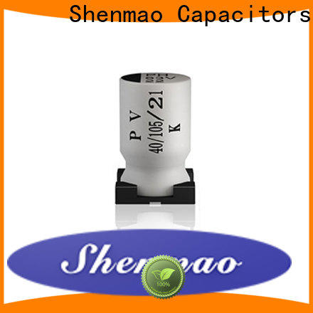Shenmao advanced technology smd capacitor manufacturers bulk production for filter