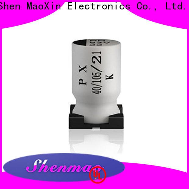 Shenmao smd aluminium capacitor overseas market for energy storage