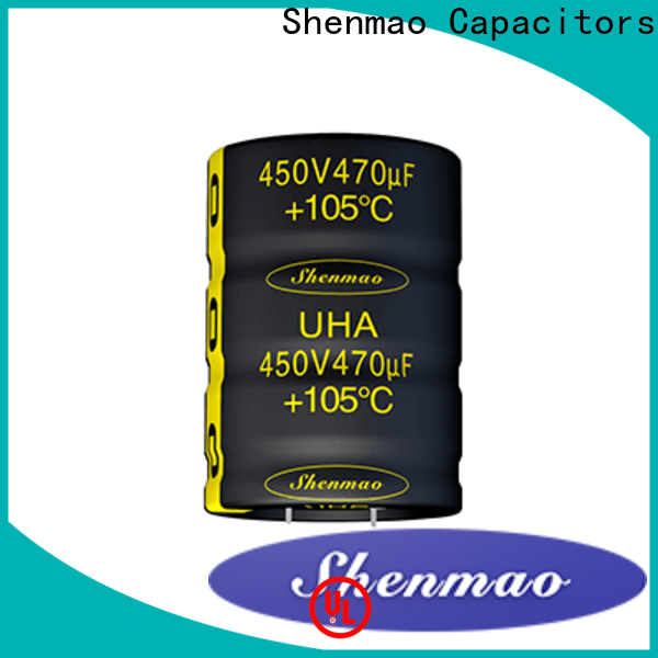 Shenmao easy to use what is a snap in capacitor marketing for DC blocking