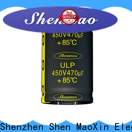 Shenmao snap-in capacitors supplier for rectification