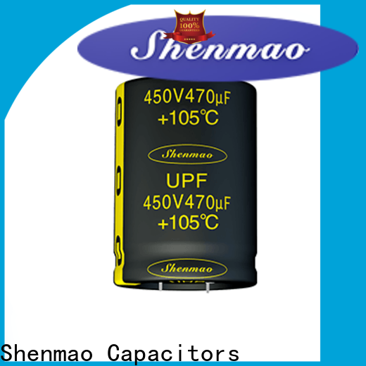 Shenmao satety Snap-in Aluminum Electrolytic Capacitor supplier for tuning