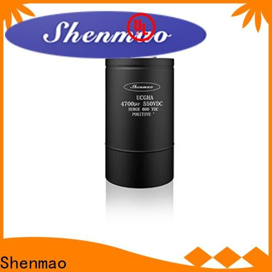 Shenmao polymer electrolytic capacitor bulk production for tuning