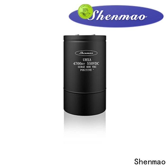 Shenmao professional screw terminal capacitors oem service for rectification