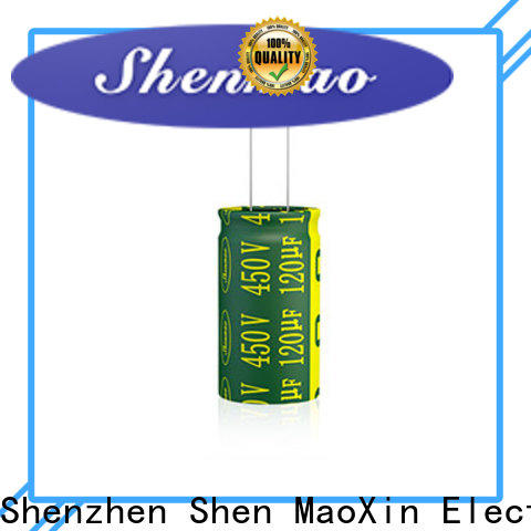 Shenmao quality-reliable radial aluminum electrolytic capacitors vendor for coupling