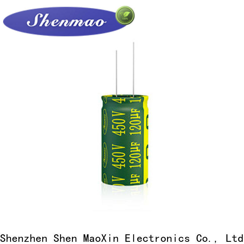 Shenmao stable radial lead capacitor owner for filter