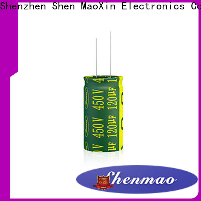 Shenmao price-favorable radial electrolytic capacitor marketing for energy storage