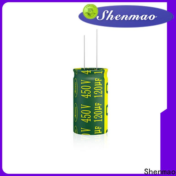 Shenmao 1000uf 450v radial electrolytic capacitors vendor for tuning