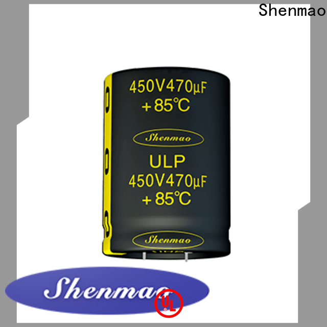 durable snap-in capacitors marketing for DC blocking