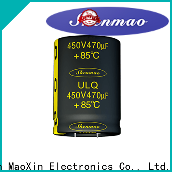 Shenmao snap in electrolytic capacitors marketing for filter