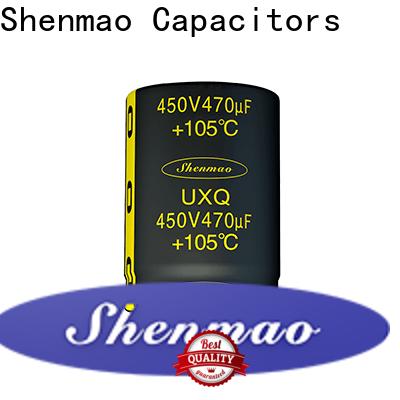 Shenmao aluminium capacitor manufacturer overseas market for tuning