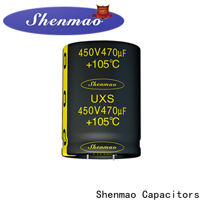 Shenmao what is a snap in capacitor overseas market for coupling