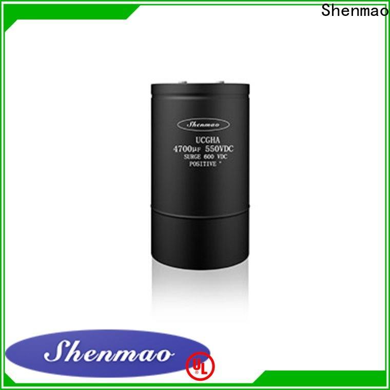 competitive price Screw Terminal Aluminum Electrolytic Capacitor marketing for temperature compensation