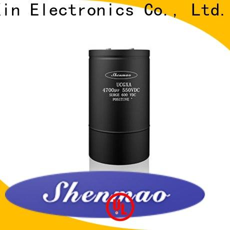 competitive price screw terminal electrolytic capacitor bulk production for filter