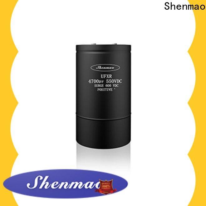 Shenmao professional 600v electrolytic capacitors marketing for tuning