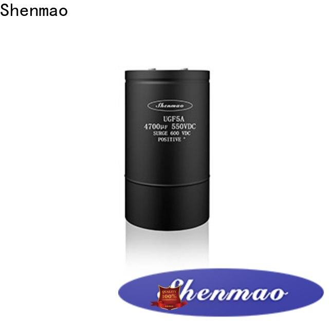 Shenmao energy-saving screw type capacitor oem service for rectification