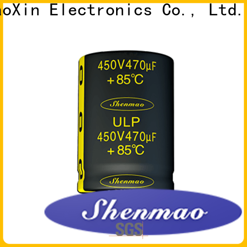 Shenmao durable snap-in capacitors vendor for tuning