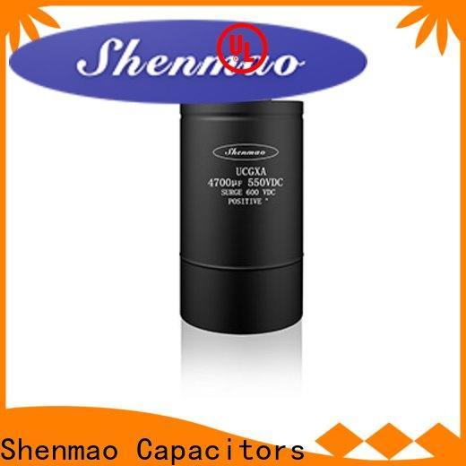 Shenmao screw capacitor bulk production for filter