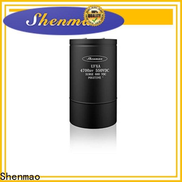 Shenmao electrolytic capacitor 1000uf 25v bulk production for DC blocking
