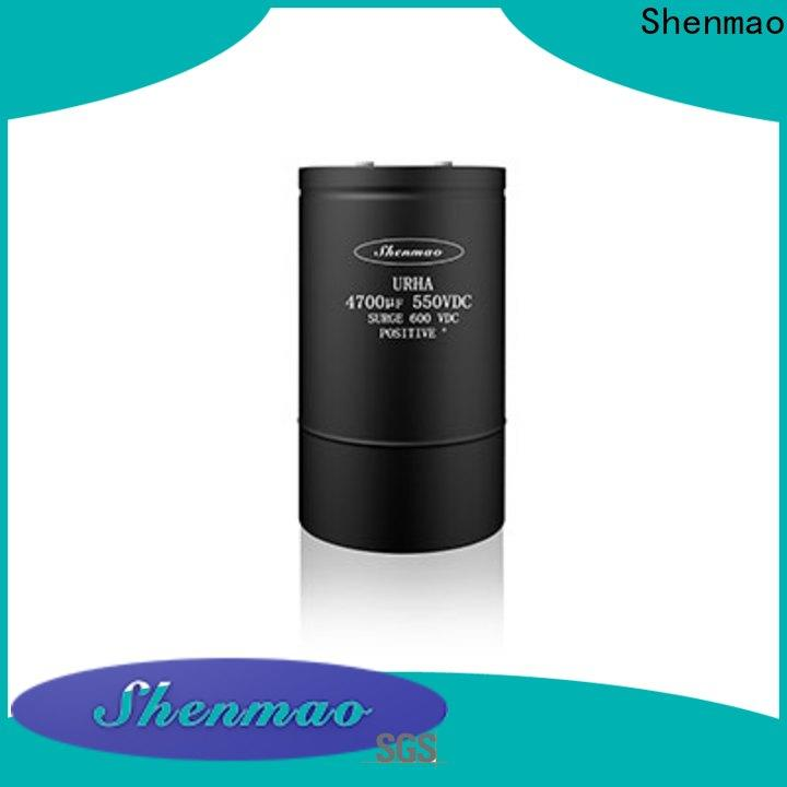 Shenmao polymer aluminum electrolytic capacitors owner for filter