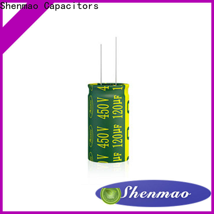 Shenmao quality-reliable radial type capacitor overseas market for filter