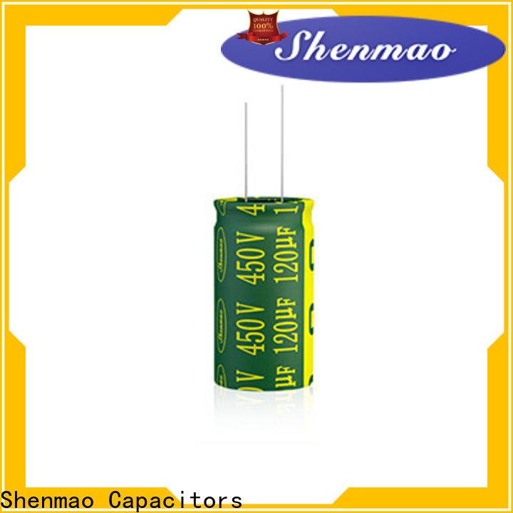 Shenmao radial aluminum electrolytic capacitors marketing for tuning