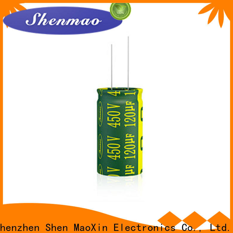 Shenmao radial type capacitor overseas market for rectification