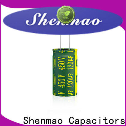 Shenmao radial capacitor bulk production for temperature compensation