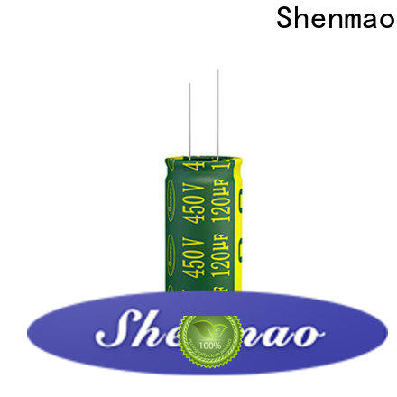 Shenmao good to use radial can capacitor bulk production for energy storage