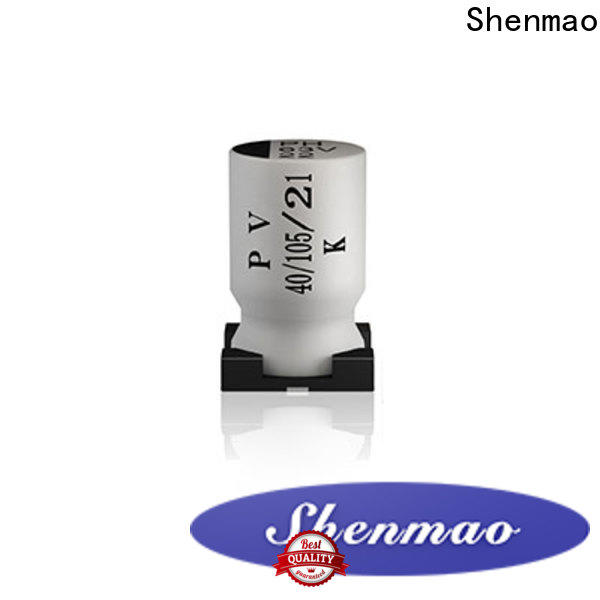 Shenmao 1uf 50v smd capacitor bulk production for DC blocking