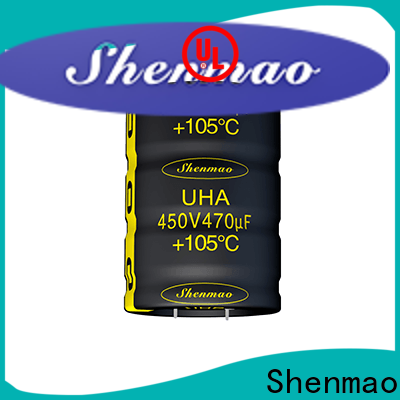 Shenmao satety electrolytic capacitors in series supplier for rectification