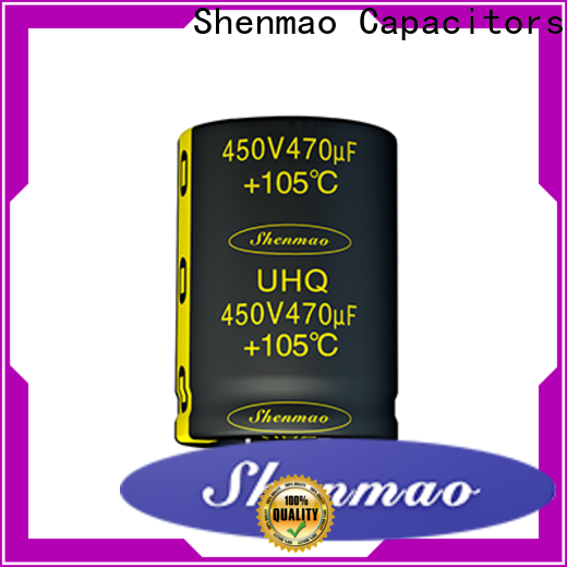 Shenmao electrolytic capacitor price overseas market for temperature compensation