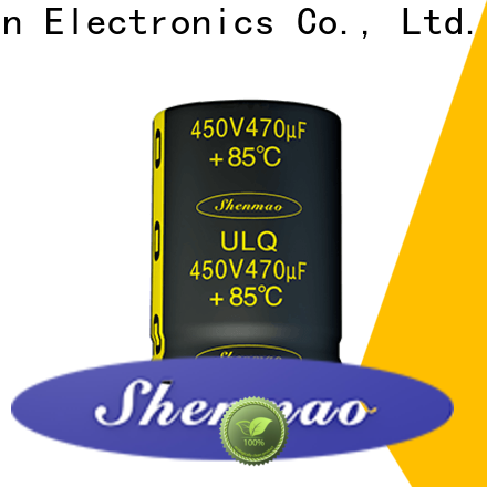 Shenmao stable 450 volt electrolytic capacitors marketing for energy storage