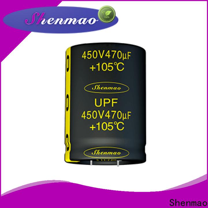 low profile aluminum electrolytic capacitors vendor for coupling