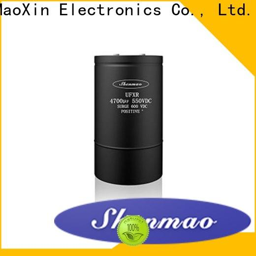 Shenmao advanced technology screw terminal electrolytic capacitor owner for temperature compensation
