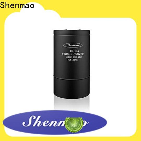 Shenmao stable screw terminal capacitor bulk production for energy storage