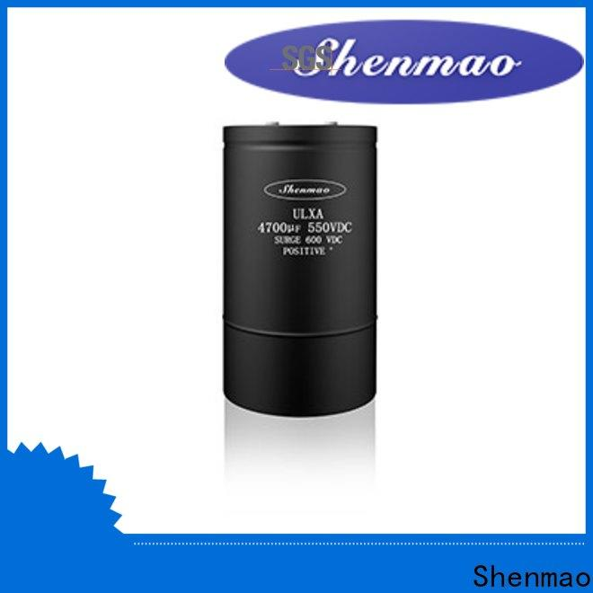 Shenmao large electrolytic capacitor supplier for filter