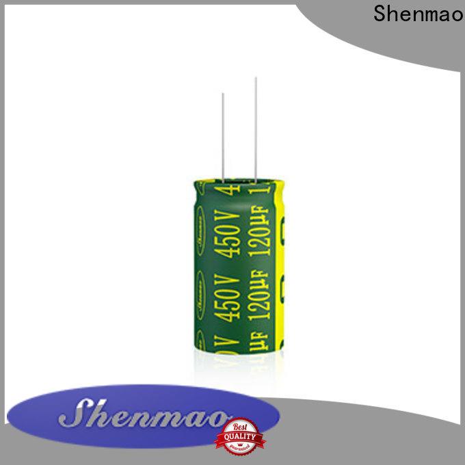 Shenmao 470uf 250v radial electrolytic capacitor vendor for rectification