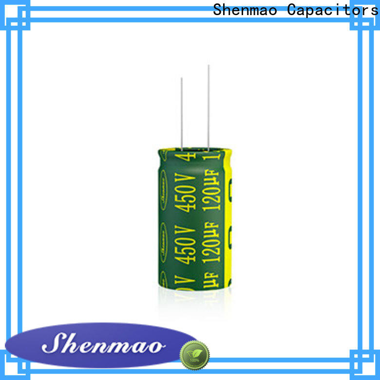 Shenmao stable electrolytic capacitor 100uf supplier for coupling